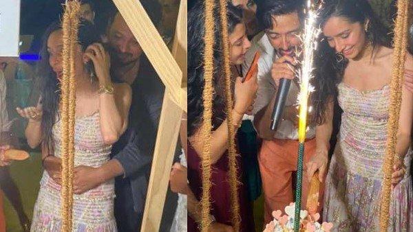 Shraddha Kapoor's Birthday Bash In Maldives: Actress Cuts Cake With Rumoured Beau; Shakes A Leg To 'Kamariya'